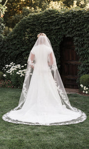 Cathedral Bridal Veil V1997C