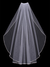 Load image into Gallery viewer, Single Tier Bridal Veil V303SF