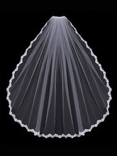 Load image into Gallery viewer, Single Tier Bridal Veil V451SF
