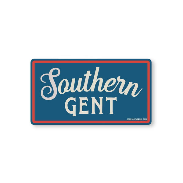Southern Gent Sticker