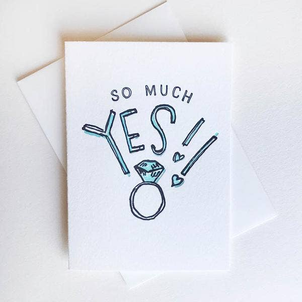 So Much Yes! Card
