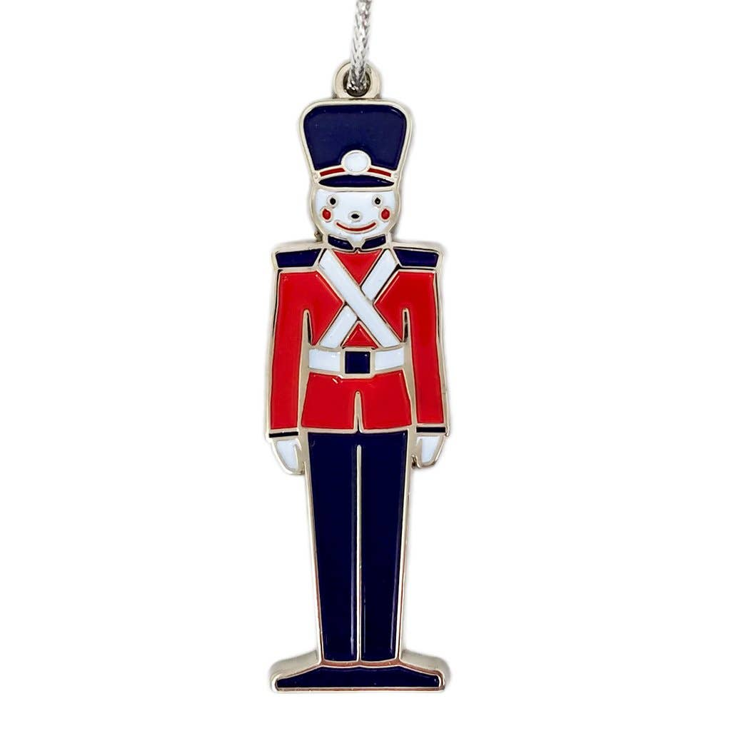 Beve! - Toy Soldier Enamel Ornament