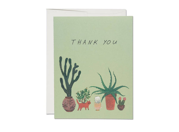Cactus Thank You Notes Boxed Set of 8