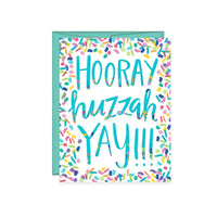 Hooray Huzzah Yay! Card