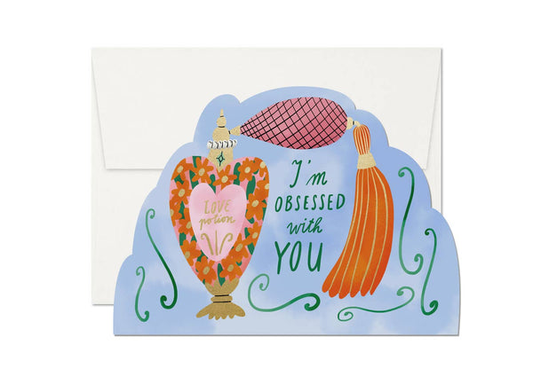 Obsessed with You Card