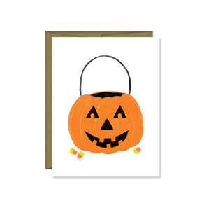 Pen & Paint - Jack O Lantern card, Halloween Pumpkin, Fall, Greeting Cards