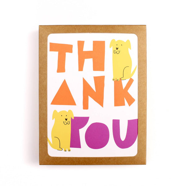 Yellow Lab Thank You Card Set