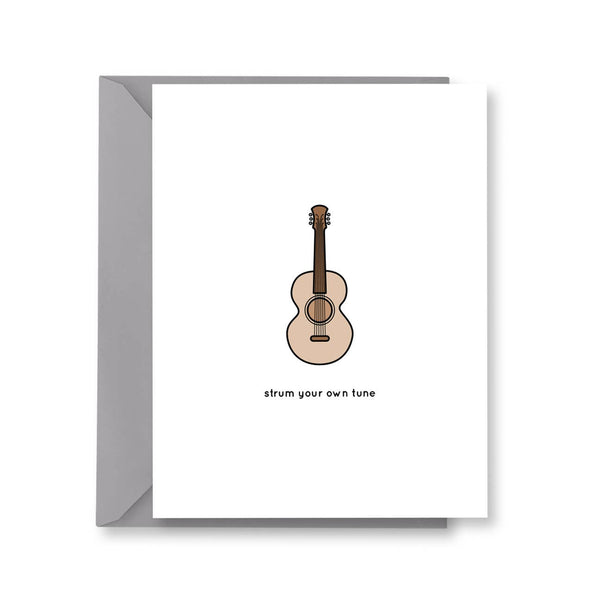 Strum Your Own Tune, Guitar