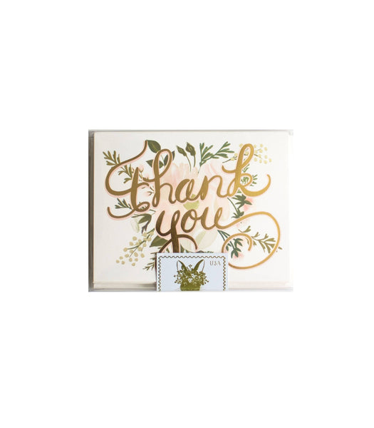 Soft Floral Thank You Boxed Set
