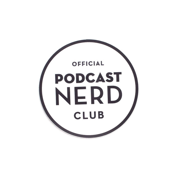 Podcast Nerd Sticker