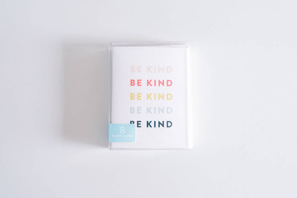Boxed Set of 8 Be Kind Cards