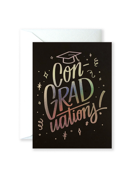 ConGRADuations! Greeting Card