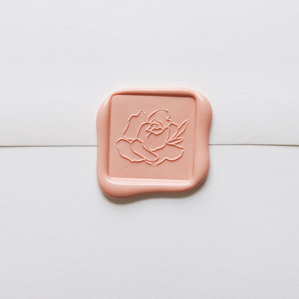 Rose Flourish Wax Seal Set