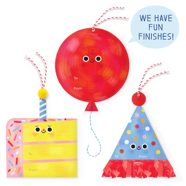 Party Supplies Jumbo Gift Tags