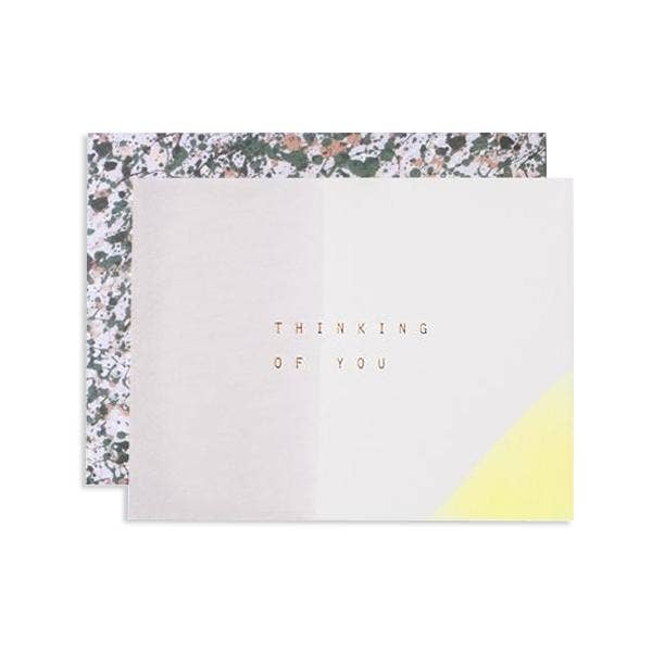 Dipped Thinking Of You Greeting Card Boxed Card