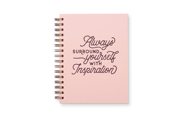 Always Inspiration Lined Notebook