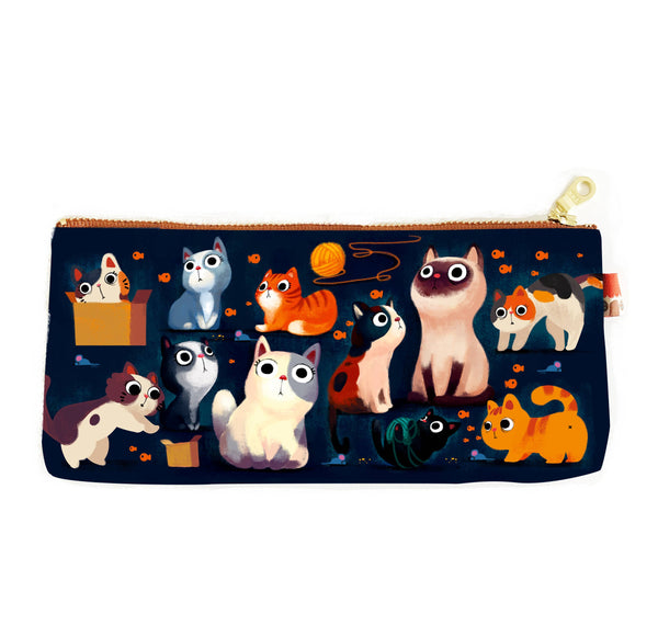 Cats Pencil Bag