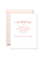 All the Crawfish Greeting Card