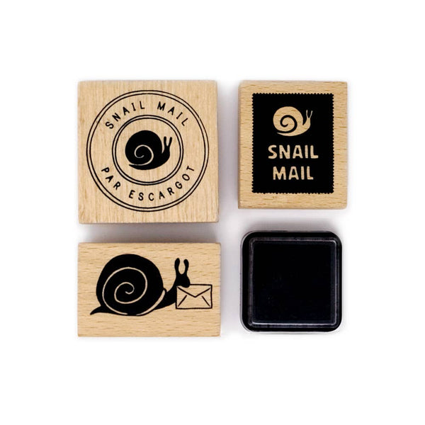 Snail Mail Rubber Stamp Set