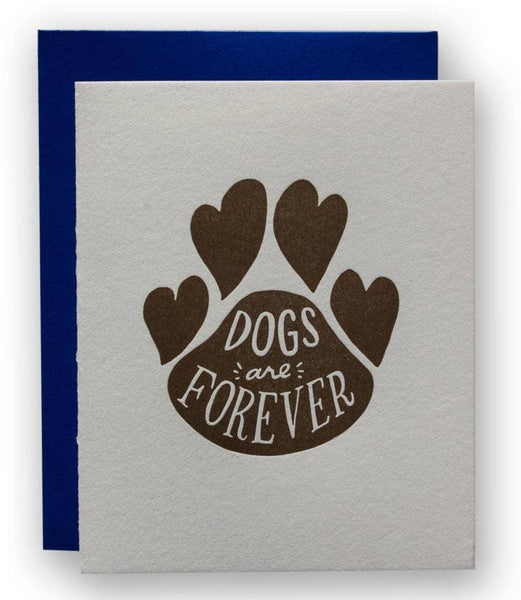 Dogs Are Forever Card