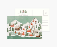 Holiday Snow Postcards