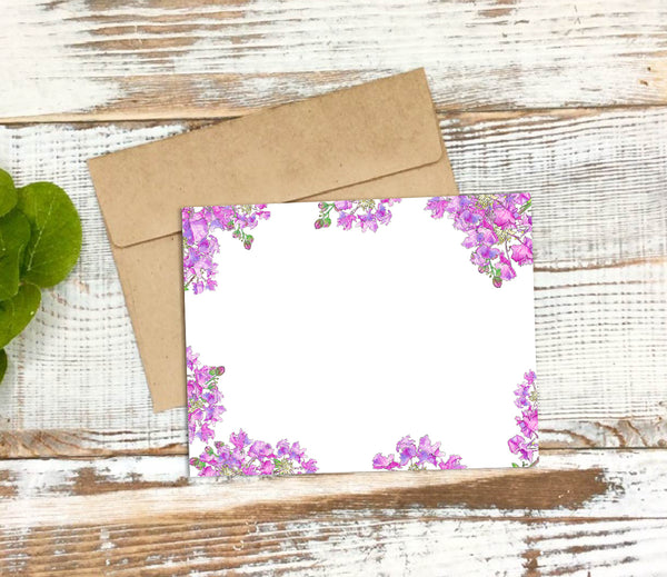 Crepe Myrtle Notecard Set