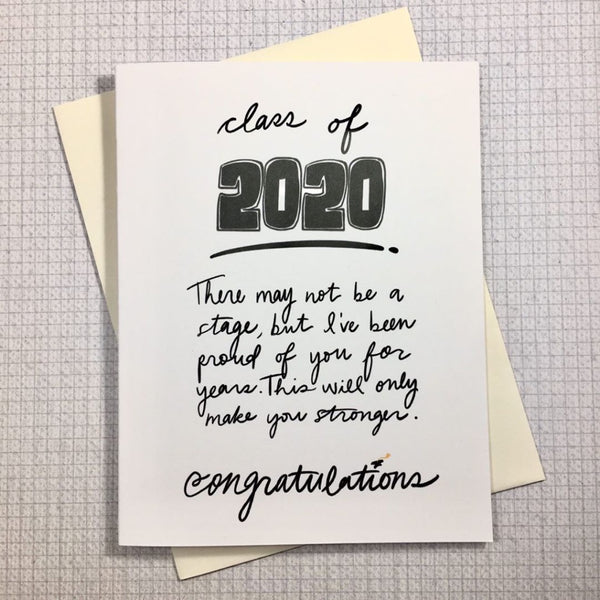 Quarantine Collection: Class of 2020 Graduation