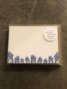 Field of Bluebonnets Notecard Set