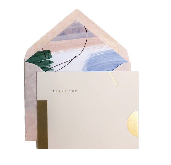 Sorbet Painted Liner Cards Boxed Set