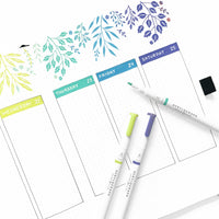 Acrylograph Pen Set - Tropical