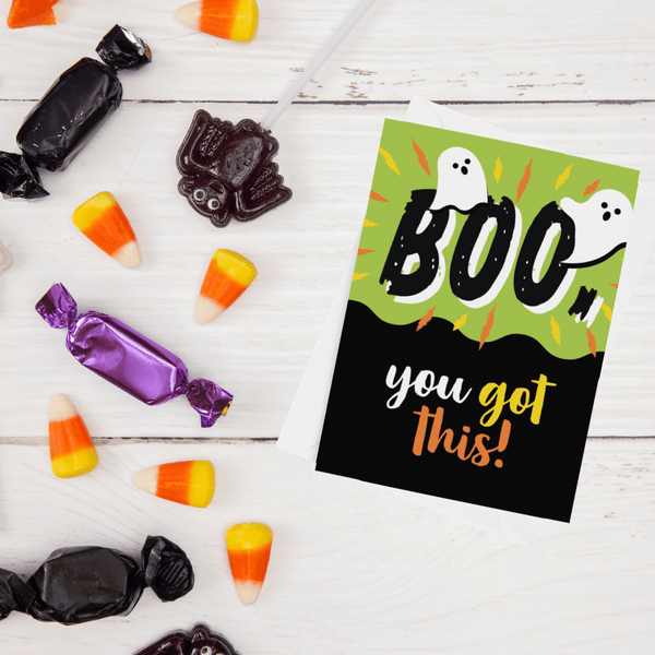 Boo, You Got This!