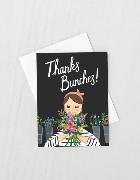 Thanks Bunches Thank You Card Boxed Set of 8