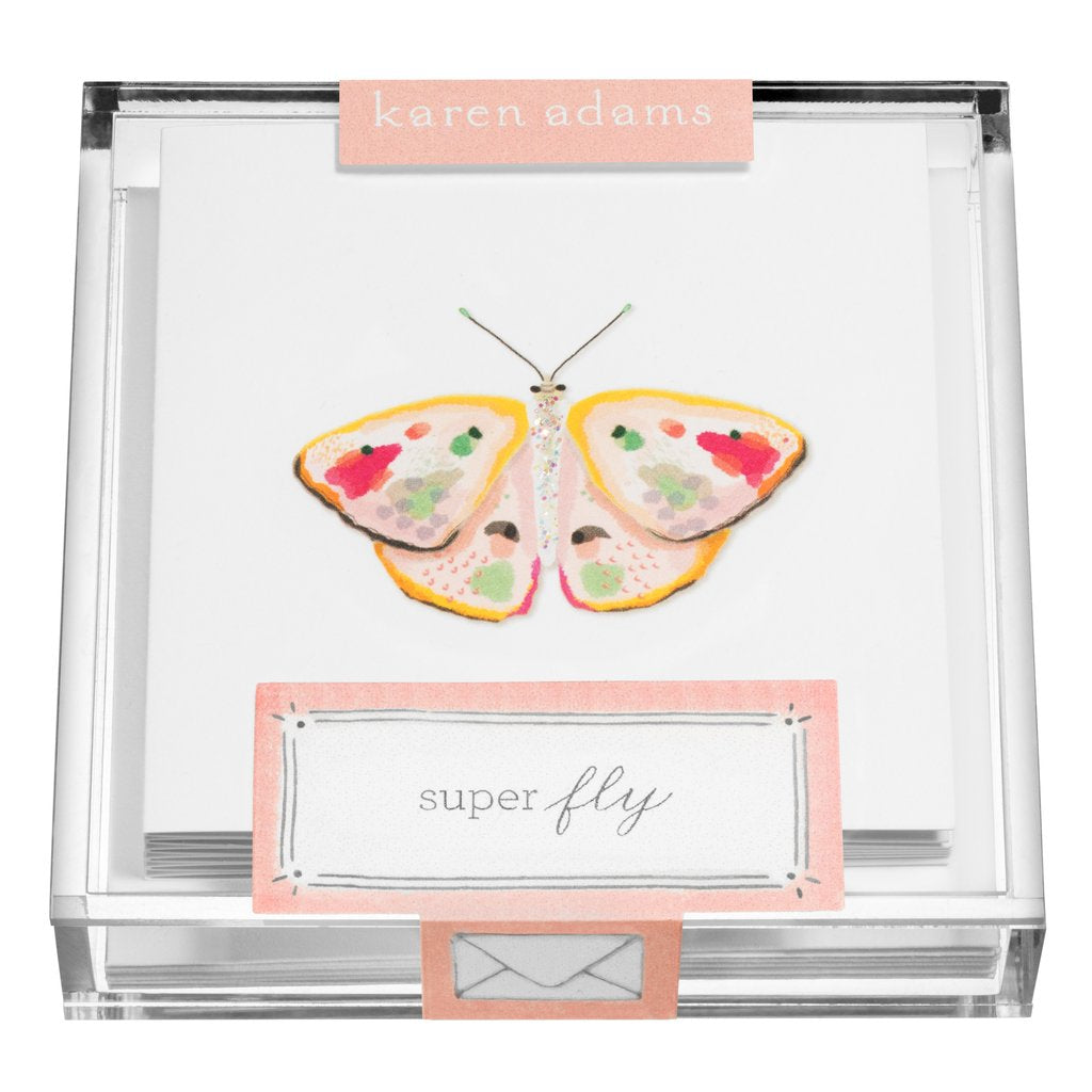 Karen Adams Gift Enclosures in Acrylic Box