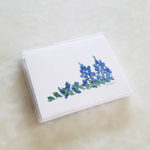 Bluebonnets Note Card Set of 8