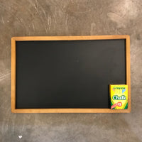 Chalkboard and Chalk Set