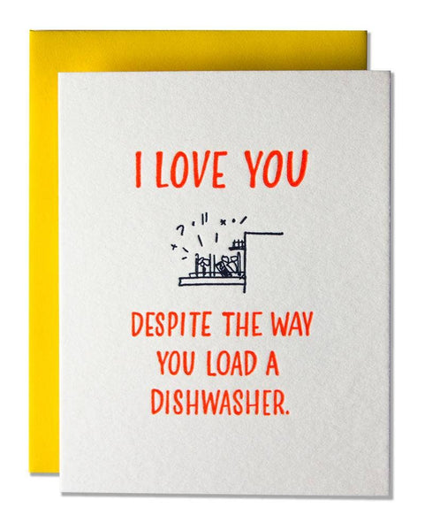 Load A Dishwasher Card