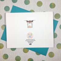 Quarantine Collection: Drone Birthday Card
