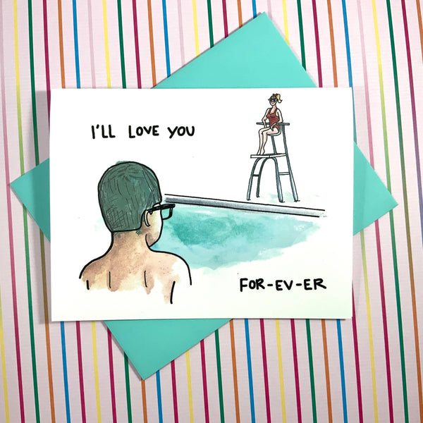 I'll Love You For-Ev-ER - Sandlot Card