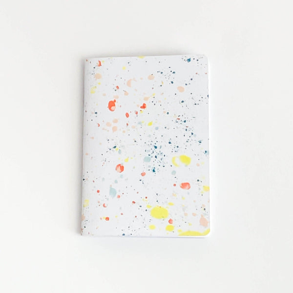 Paint Splatter Pocket Journal