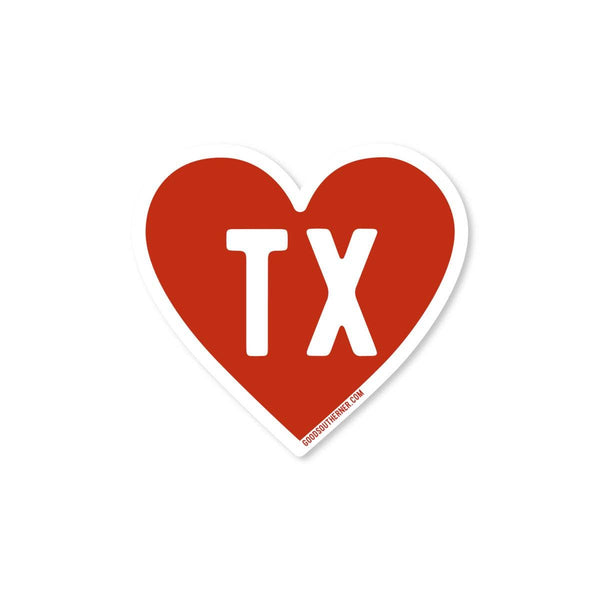 Love Texas Sticker