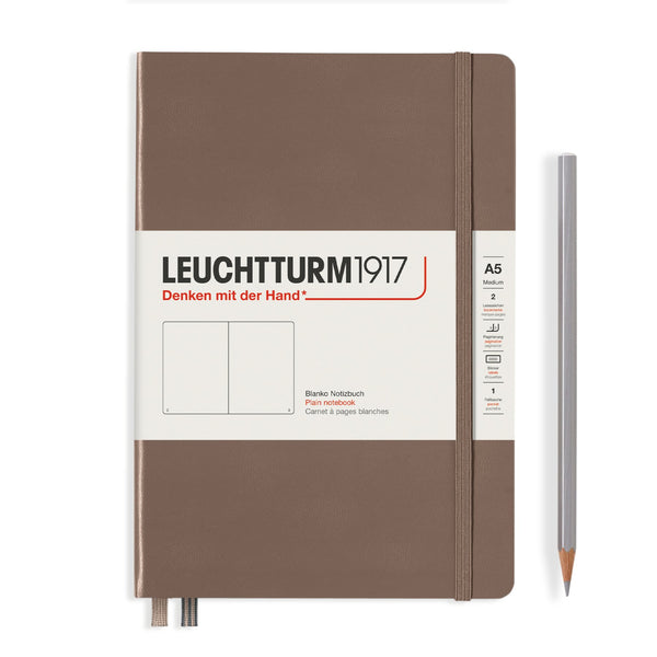 Leuchtturm1917 Medium A5 Hardcover Notebook in Warm Earth