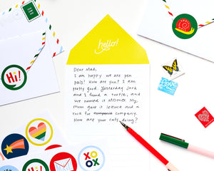 Hello, How Are You? Stationery Kit