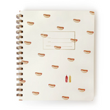 Hot Dogs Notebook