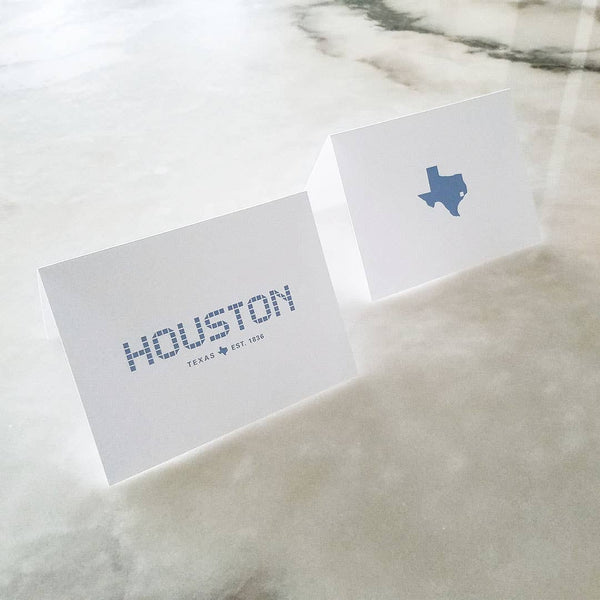 Houston and Texas Tile Collection Note Cards Set of 8