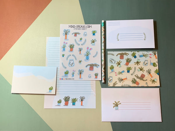 Mind Speaks Stationery Sets, Various Designs