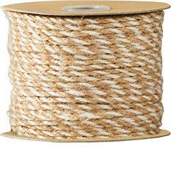 Ivory and Jute Cord