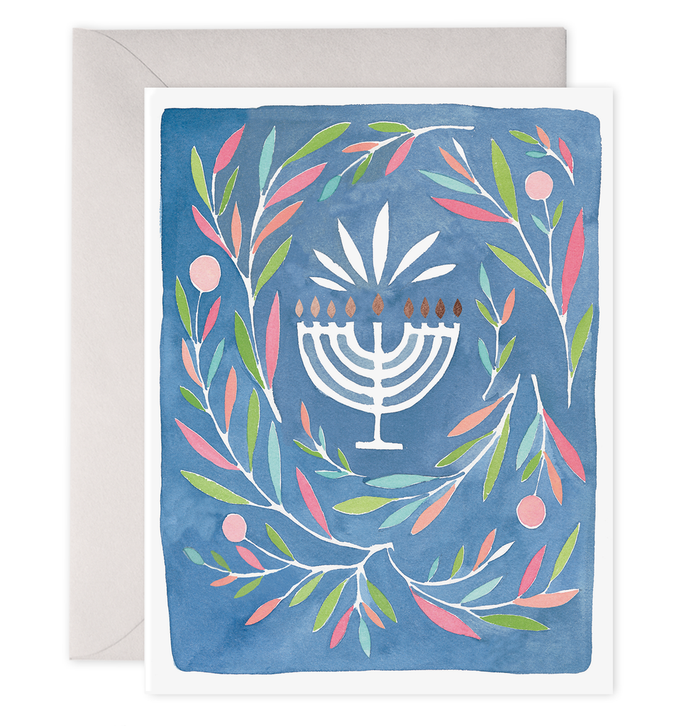Peaceful Menorah Boxed Set of 6