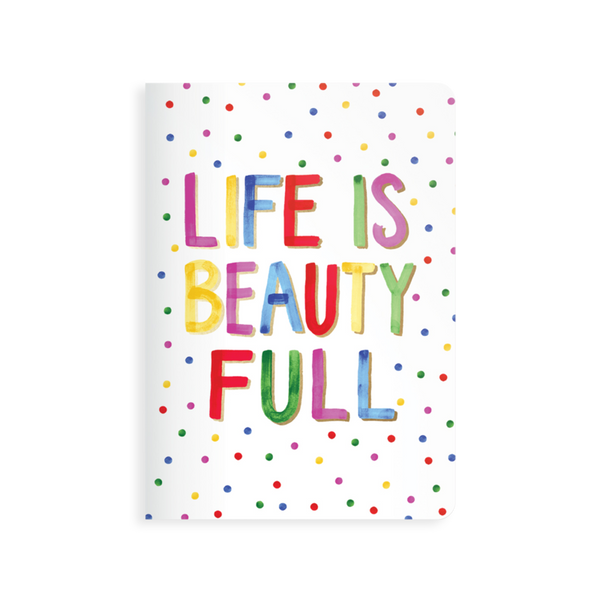 Life is Beautiful Jot It Notebook