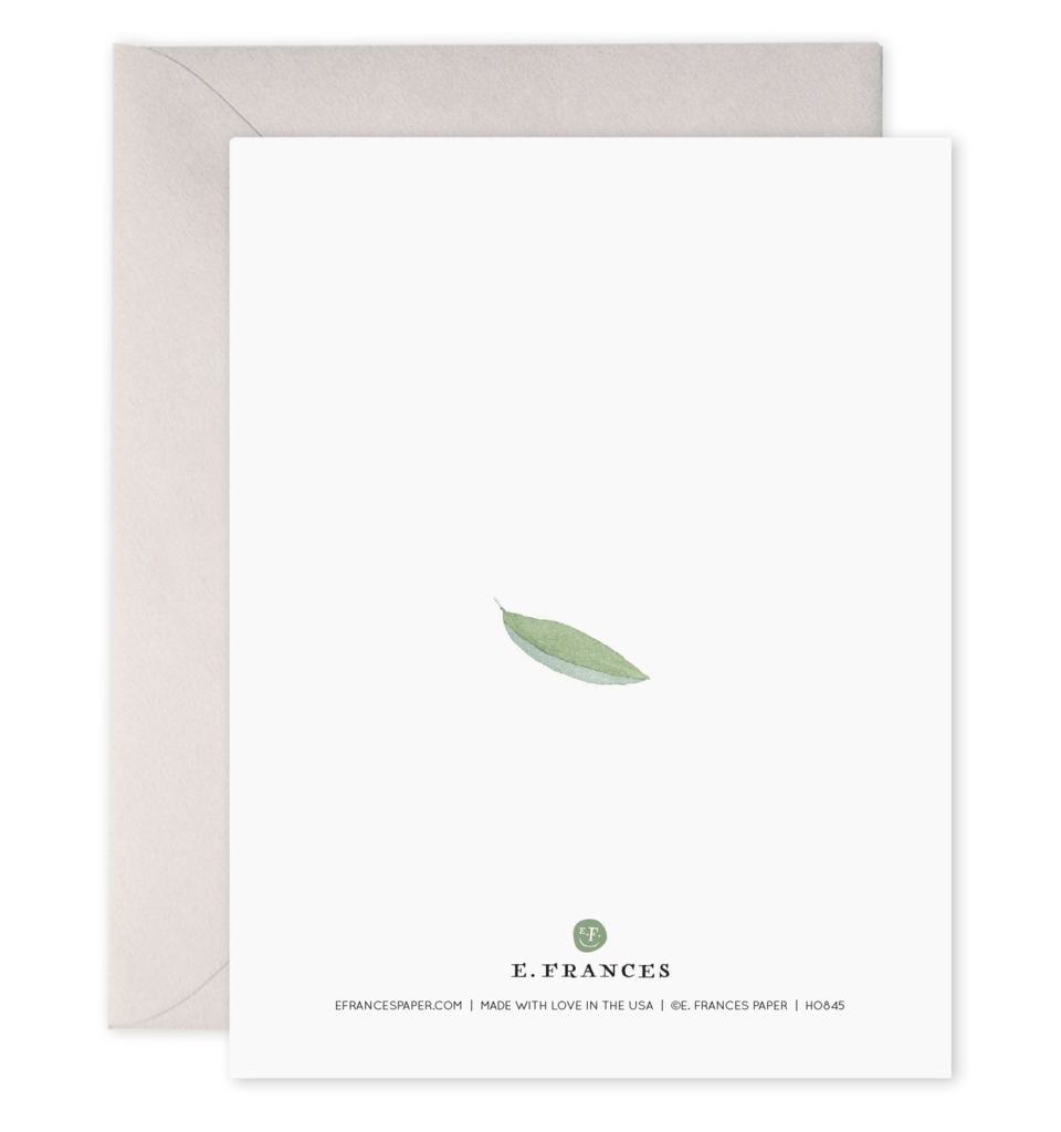 Peaceful Leaves Holiday Boxed Set of 6