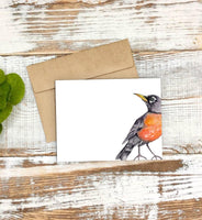 American Robin Stationery Notecard Set